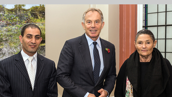 2013: Tony Blair endorses peace work of PCFF